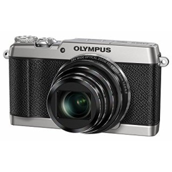 OLYMPUS コンパクトデジタルカメラ STYLUS SH-3 シルバー 光学式5軸手ぶれ (中古品)