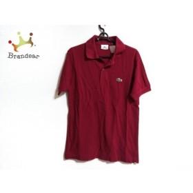 ラコステ Lacoste 半袖ポロシャツ サイズ2 M メンズ レッド 新着 20190906