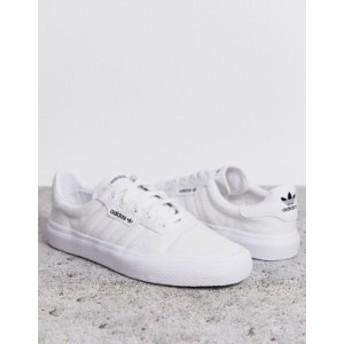 アディダス レディース スニーカー シューズ adidas Originals 3MC sneaker in white Ftwr white