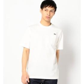 【シップス/SHIPS】 LACOSTE: TH219E ヘビー カノコ ポケット Tシャツ