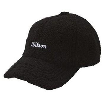 ウイルソン レディース ボア キャップ(ブラック・サイズ:フリー) WILSON WBC1939LWA BK 返品種別A