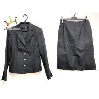 ランバンコレクション LANVIN COLLECTION スカートスーツ サイズ38 M レディース 黒 新着 20190906