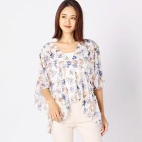 【NEW】ミューズ リファインド クローズ(MEW'S REFINED CLOTHES)/インナーセット花柄チュニック