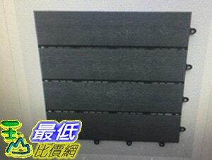 [COSCO代購 如果售完謹致歉意] Shantex 深灰木紋地板- 35片裝 _W113094