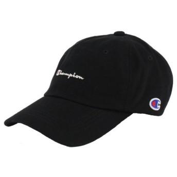 チャンピオン キャップ ツイルキャップ (181-019A) 帽子 : ブラック Champion