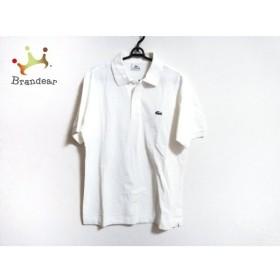 ラコステ Lacoste 半袖ポロシャツ サイズ4 XL メンズ 白 新着 20190906