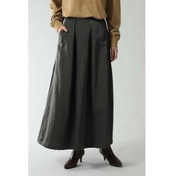 【ローズバッド/ROSEBUD】 フレアロングスカート