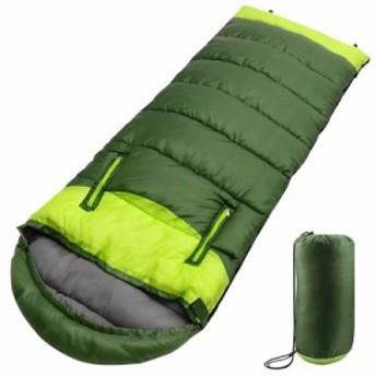 シュラフ 寝袋 封筒型 最新型手が出せる可能 最低使用温度-5℃ 1.35kg 220cm 1人用 丸洗いできる 連結可能 防水 コンパクト 収納便利 抗
