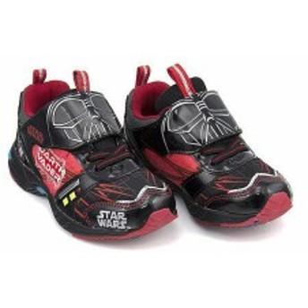 スター・ウォーズ スニーカー 男の子 キッズ 子供靴  STAR WARS 1005-01 ブラック