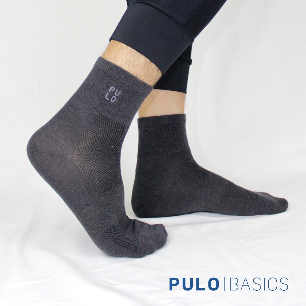 PULO-穿立淨除臭輕著簡約短襪