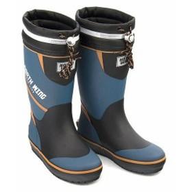 レインブーツ 長靴 男の子 キッズ 子供靴 ドローコード 反射材 防水 ノースウィング NORTH WING 137002 コバルト