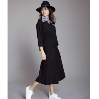自由区(JIYUKU)/【亜希さん着用】ビスコースストレッチ フレアースカート(検索番号N62)