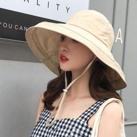 UVカット 帽子 レディース 紫外線対策 ワイヤーを加える 熱中症予防 取り外すあご紐 サイズ調節可 つば広 おしゃれ 可愛い ハット 旅行用 日よけ 夏季 女優帽 小顔効果抜群 (オフホワイト)