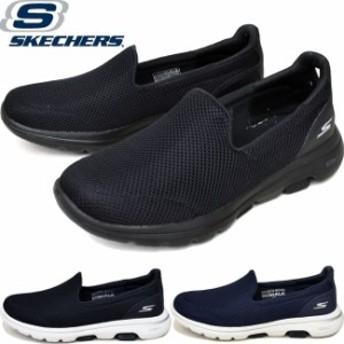 スケッチャーズ SKECHERS ゴーウォーク 5 GOwalk 5 スニーカー スリッポン レディース 15901