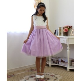 (Little Princess/リトルプリンセス)子供ドレス 301004/レディース ライラック