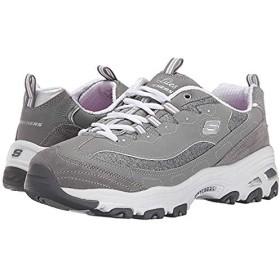 [スケッチャーズ] レディーススニーカー・靴・シューズ D'Lites - Me Time Gray (26.5cm) B - Medium [並行輸入品]