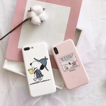 スヌーピー スマホケース iPhone case Snoopy 携帯ケース 保護用ケースiPhonexs/max登場! 耐衝撃ケース 可愛いsnoopy