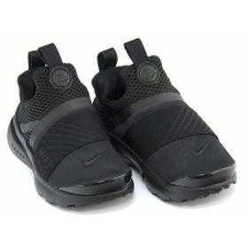 ナイキ スニーカー 女の子 男の子 キッズ ベビー 子供靴 PRESTO EXTREME TD NIKE 870019 ブラック/ブラック/ブラック