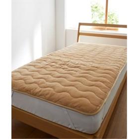 ウォームコア 吸湿発熱×蓄熱保温わた あったか敷パッド(足入ポケットタイプ) 敷きパッド・ベッドパッド