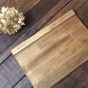 アンティーク風、木のランチョンマット M アンティークブラウン