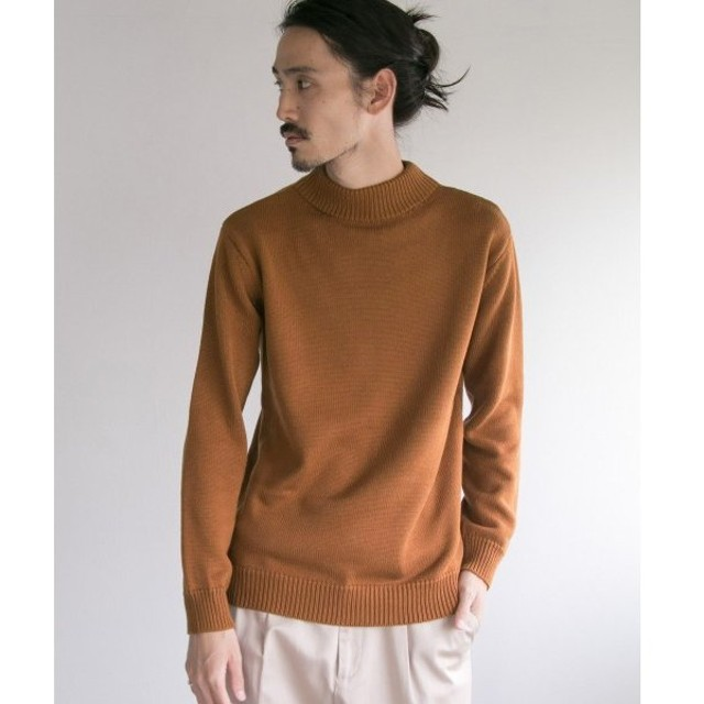 URBAN RESEARCH / アーバンリサーチ C/A MOCK NECK KNIT