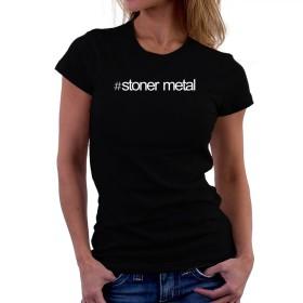 Hashtag Stoner Metal 女性の Tシャツ