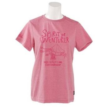 ポールワーズ(POLEWARDS) グラフィックプリントTシャツ PWB7S4095W PNK (Lady's)