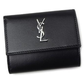 サンローラン 財布 レディース 553549 0U42N 1000 ブラック