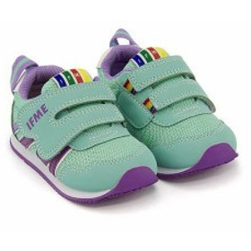 イフミー スニーカー 女の子 男の子 キッズ ベビー 子供靴 限定モデル IFME 30-7771 グリーン