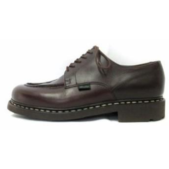 【中古】パラブーツ Paraboot 革靴 シューズ CHAMBORD TEX 710707 茶 ブラウン 26cm メンズ