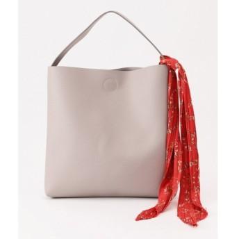any SiS / エニィスィス 【2WAY】スカーフアクセント トートバッグ