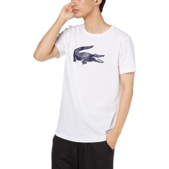 [ラコステ] TEE SHIRTS ビッグロゴウルトラドライテニスTシャツ メンズ ホワイト EU 003 (日本サイズM相当)