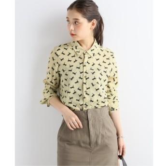 【ジャーナルスタンダード/JOURNAL STANDARD】 キャットプリントシャツ