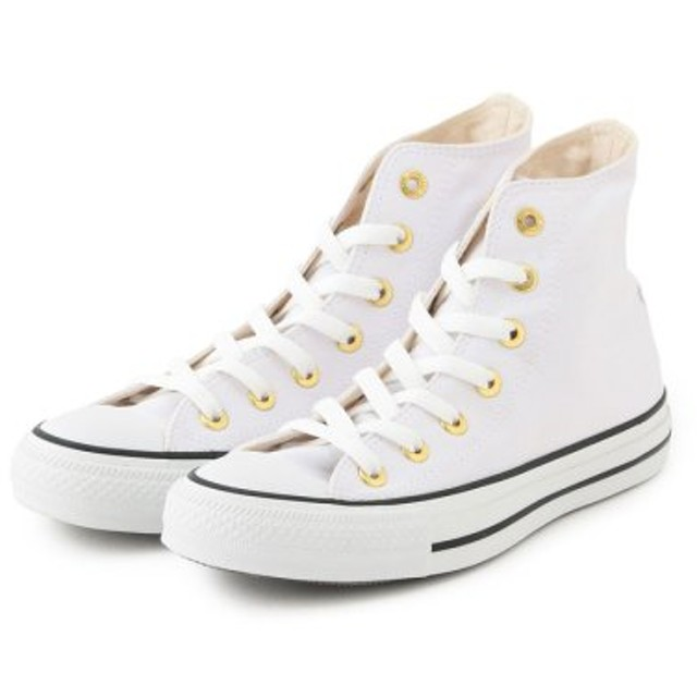 (Adam et Rope Le Magasin/アダム エ ロペ ル マガザン)【CONVERSE】 AS WEARABLE STICKER HI/レディース ホワイト(10)