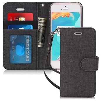 iPhone SE ケース iPhone5S ケース iPhone5 ケース,FYY 手帳型 カード収納 スタンド機能