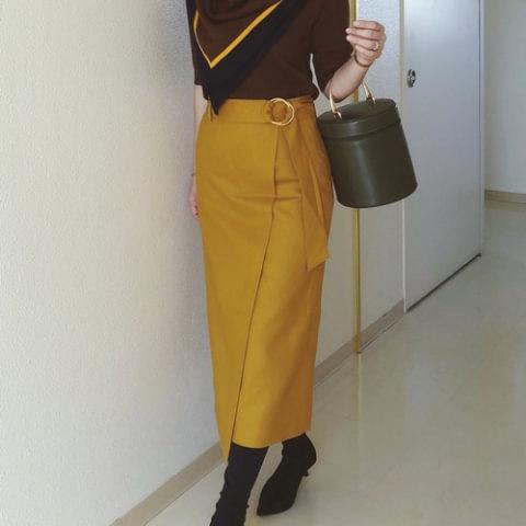 6種類の色味別!大人のための「渋カラー」スカートお手本帖