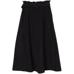 【6,000円(税込)以上のお買物で全国送料無料。】ベルト付ギャザースカート