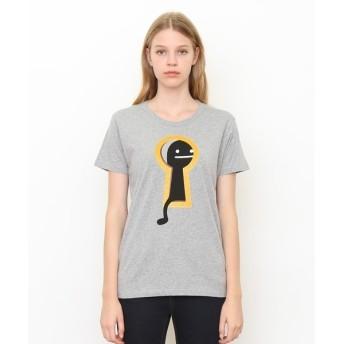[マルイ] 【ユニセックス】ベーシックTシャツ/キーホールビューティフルシャドー/グラニフ(graniph)