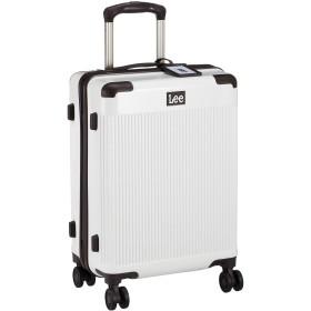 [リー] スーツケース 超軽量双輪 表面デニム調 内装ペイズリー柄 機内持ち込みサイズ TSAロック 機内持ち込み可 37L 3.3kg ホワイト
