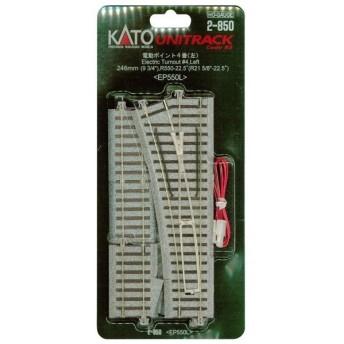 KATO HOゲージ 電動ポイント4番 左 2-850 鉄道模型用品