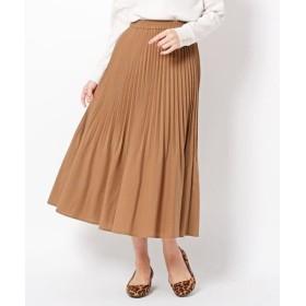THE SHOP TK / ザ ショップ ティーケー 裾消しプリーツスカート