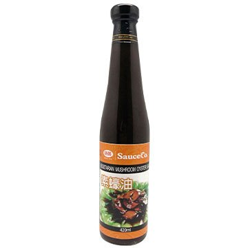 【味榮】有機香菇 素蠔油 (420ml/瓶)