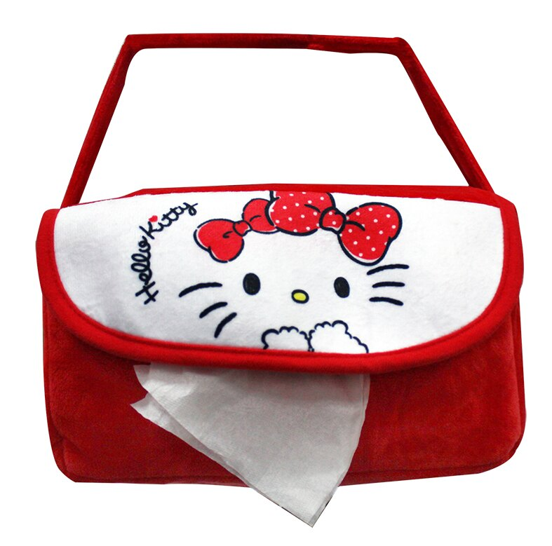 Hello Kitty 萌樣面紙套 三麗鷗 Sanrio 蕾寶 生日禮物 畢業禮物 交換禮物 情人節禮物 聖誕禮物 聖誕節禮物 面紙套 收納袋 居家用品