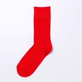 <公式>シックストックス −SILK MIX RIB− ソックス メンズ レディース ビジネス 日本製 消臭 靴下 CHICSTOCKS (30 Red, M(24-26cm))