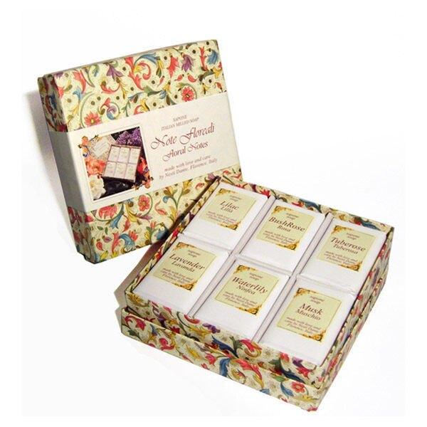 Nesti Dante 義大利手工皂 經典城市之花禮盒 100g×6入
