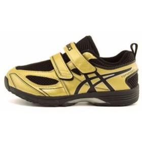 アシックス スクスク 女の子 男の子 キッズ 子供靴 スニーカー トップスピード ミニ 2 ストラップ asics SUKU2 TUM184 ブラック/G