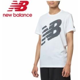 【2点までメール便送料無料】ニューバランス グラフィック ヘザーテックT AMT93083-WT メンズ 19FW New Balance