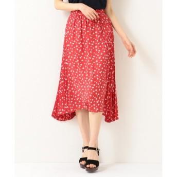 【クミキョク/組曲】 【洗える】マーガレットドットプリーツ プリーツスカート