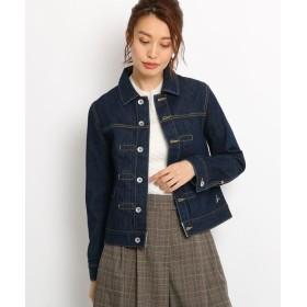 Dessin(Ladies)(デッサン(レディース)) 【Sサイズ・Lサイズあり 洗える】12OZデニムジャケット