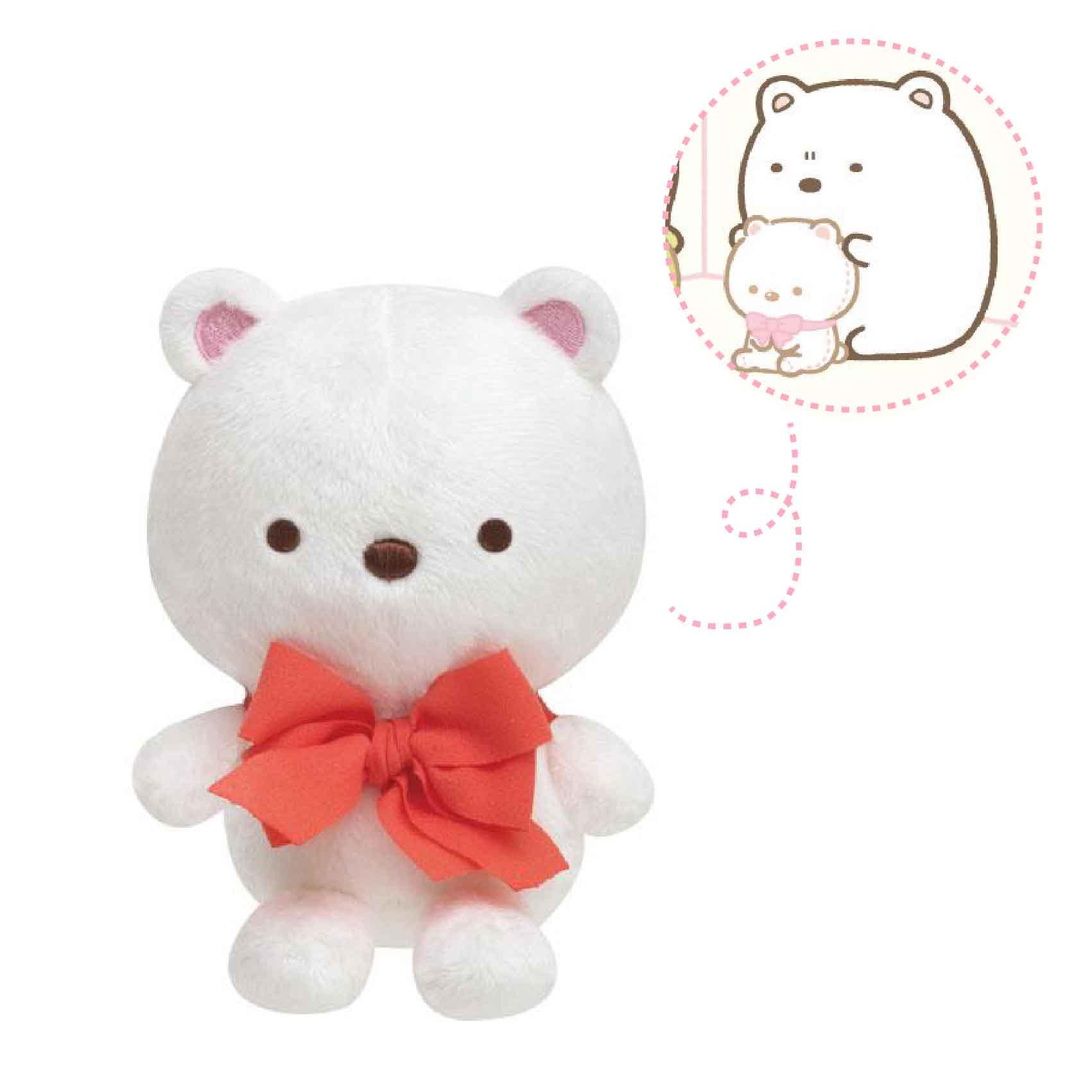 【角落生物北極熊的手縫娃娃】角落生物 北極熊 手縫 娃娃 日本正品 該該貝比日本精品